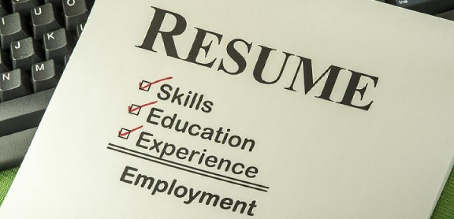resume checkist
